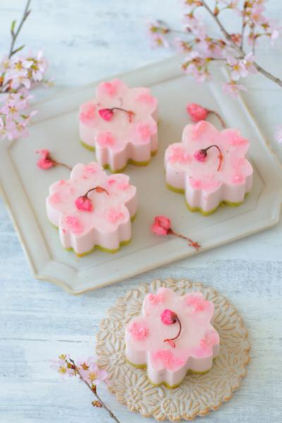 桜香る♪桜ムース