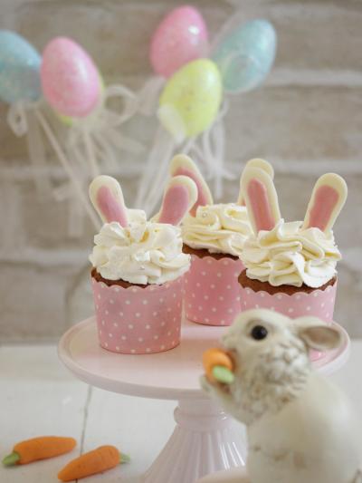 * イースターバニー ♡ キャロットのカップケーキ♪