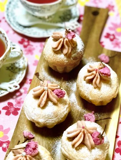 桜もちもちパン