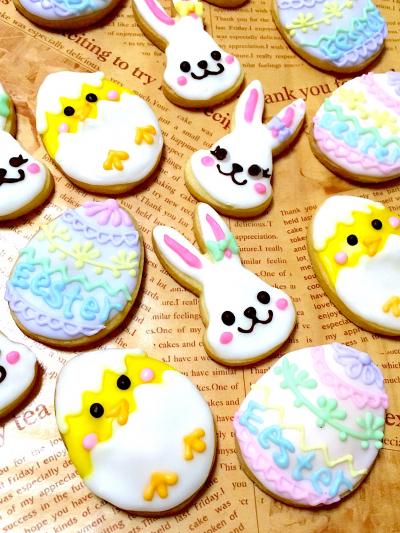 アイシングクッキー(イースター)