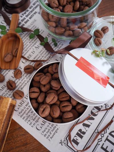 珈琲好きに贈る♡コーヒー豆クッキー