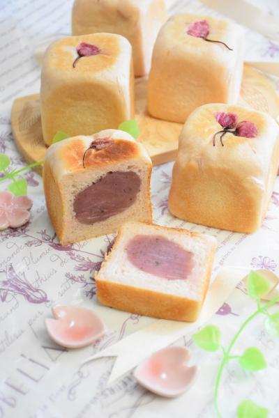 桜あんのキューブパン(6cmキューブ型)