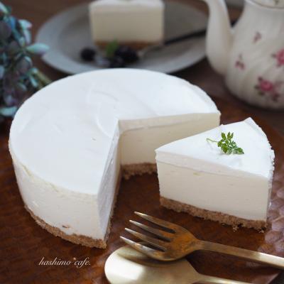 フワフワ濃厚*レアチーズケーキ