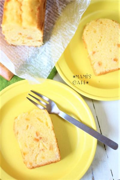 しっとりオレンジパウンドケーキ