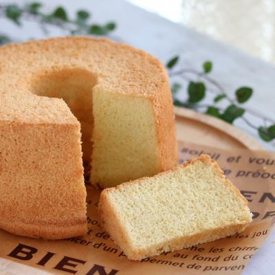 しっとりじゅわわん♪トリプルココナッツシフォンケーキ