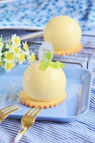 レモンチーズムース