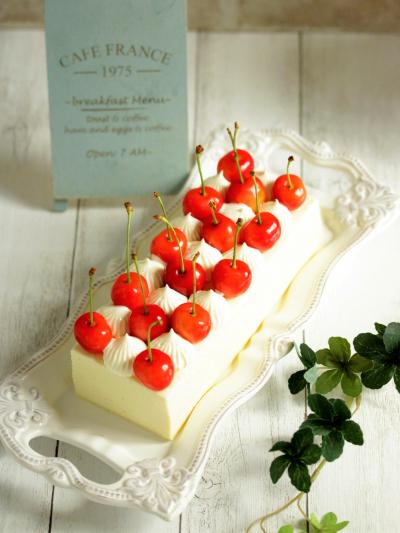 * ミルキー・チーズテリーヌ ♡ 白いチーズケーキ♪