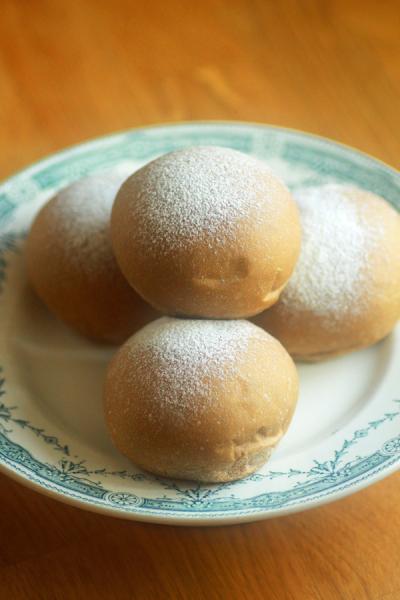 珈琲チョコ白パン