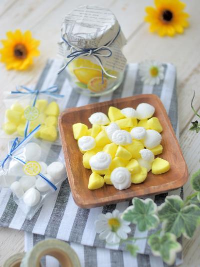 レモン風味のラムネ