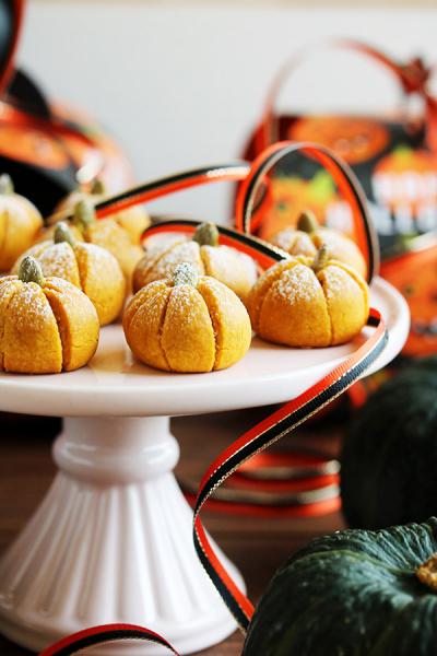 かぼちゃのスノーボール
