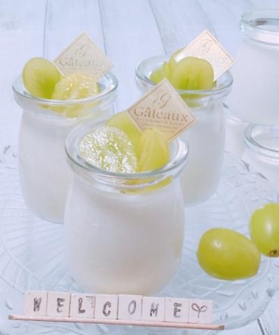 ★ミルク入り★カルピスゼリー♪