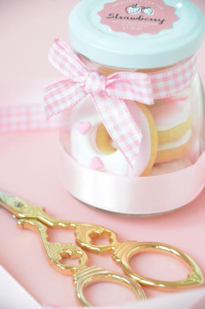 簡単かわいいミニクッキーのラッピング♡