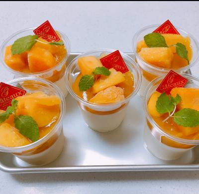 とろける食感マンゴー杏仁