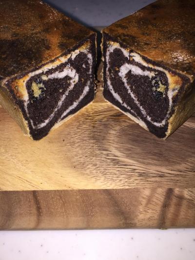 ブラックココア☆スリム型パン