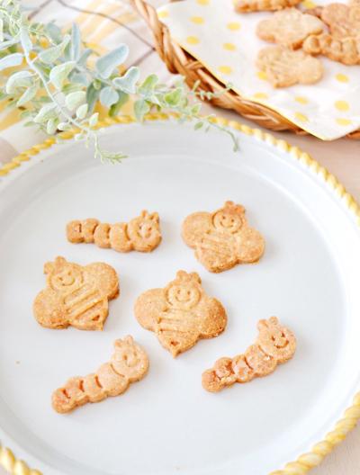 小麦粉なし、卵なし、バターなし☆米粉とすりごまのクッキー☆