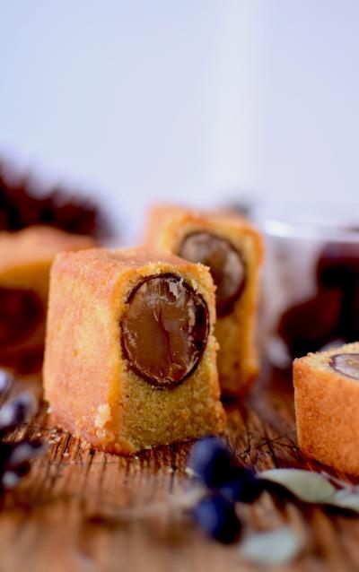 まんまる栗のパウンドケーキ