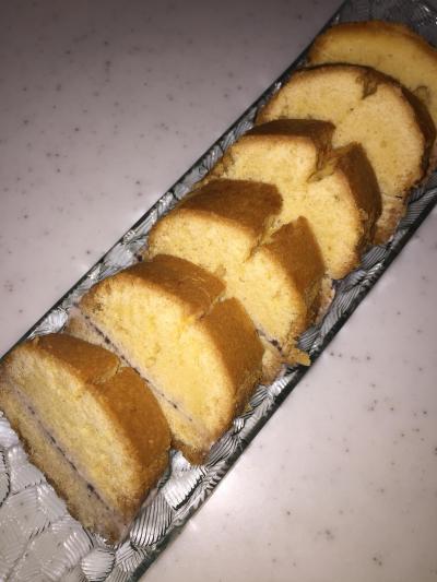 米粉★アイスパウンドケーキ