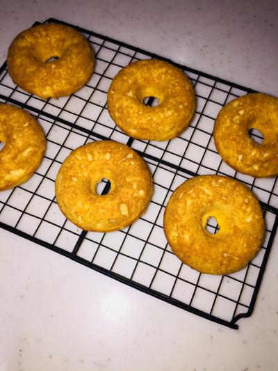 米粉☆しっとり焼ドーナツ