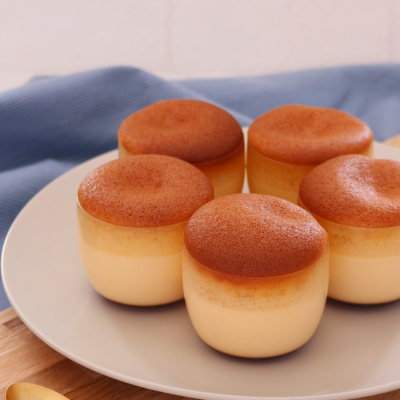 蜂蜜かすてらプリンケーキ