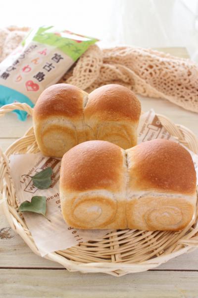 米粉と全粒粉のもっちりミニ食パン