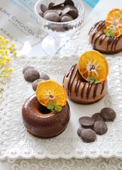 ショコラオランジュ生ドーナツ