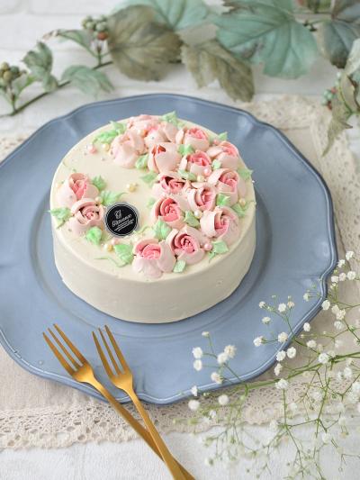 さとうきび糖で作った★バタークリームのケーキ