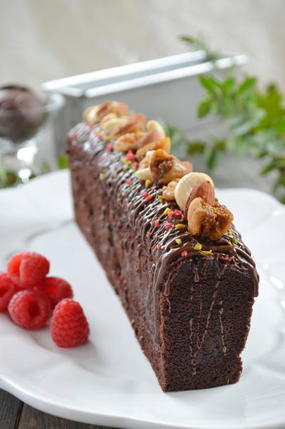 砂糖不使用!大人の濃厚チョコレートパウンドケーキ