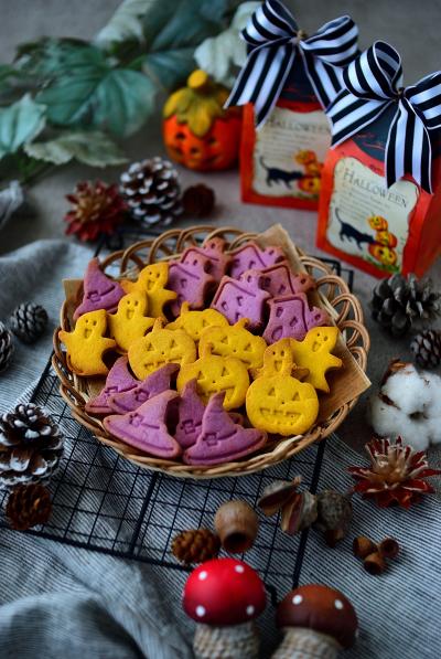 卵不使用★ハロウィンのクッキー