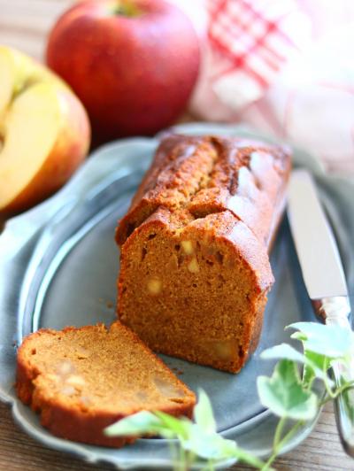 アップルキャラメルパウンドケーキ