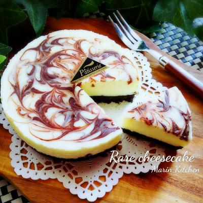 レンチンして混ぜるだけのワンボウルレアチーズケーキ♡