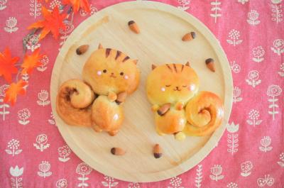 林檎とクリームチーズのよくばりリスパン♪