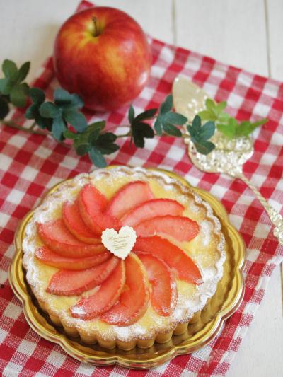 * 秋色 ♡ りんごのフラン♪