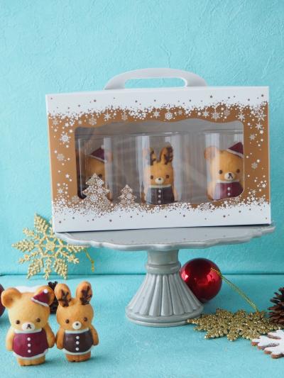 クリスマスクッキーのラッピング