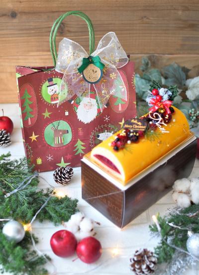 クリスマス向け☆紙袋のラッピング