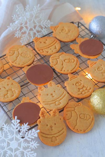 フードプロセッサーで簡単!まん丸全粒粉チョコクッキー