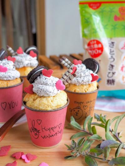 クッキーアンドクリームのプチケーキ