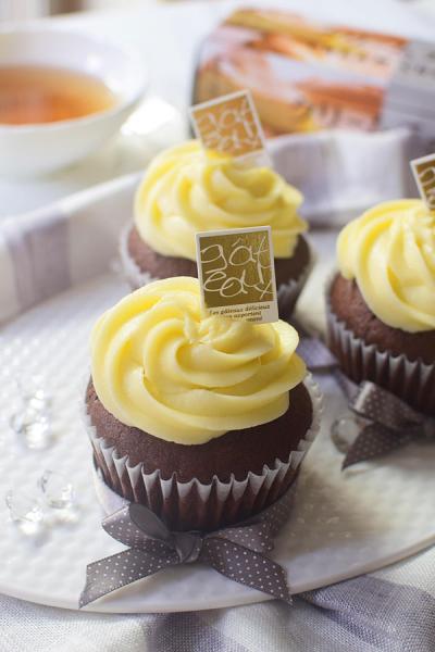 クリームチーズフロスティング☆カップケーキ