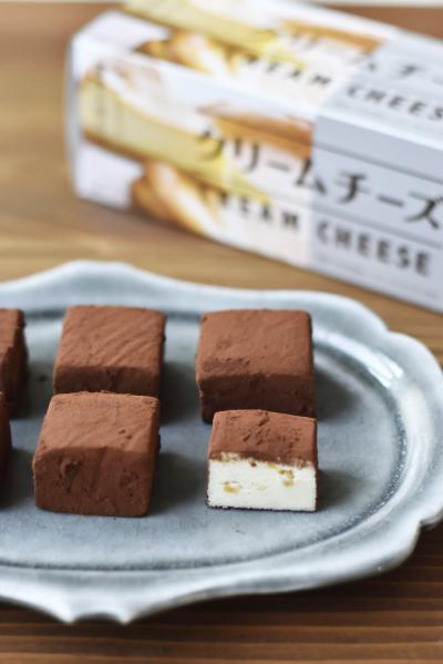 クリームチーズとホワイトチョコのトリュフ