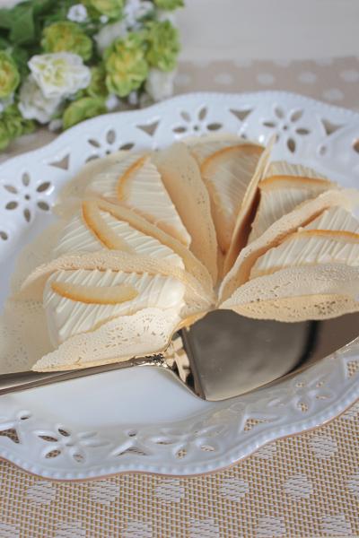 オレンジ香るホワイトガナッシュケーキ