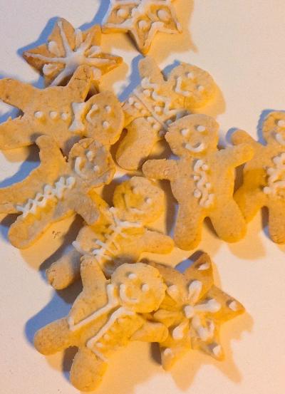 簡単★生の生姜で作るジンジャークッキー