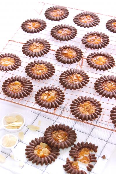 ロミアスクッキー《ショコラオランジュ》