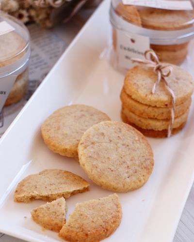さっくさくなメープル胡桃クッキー