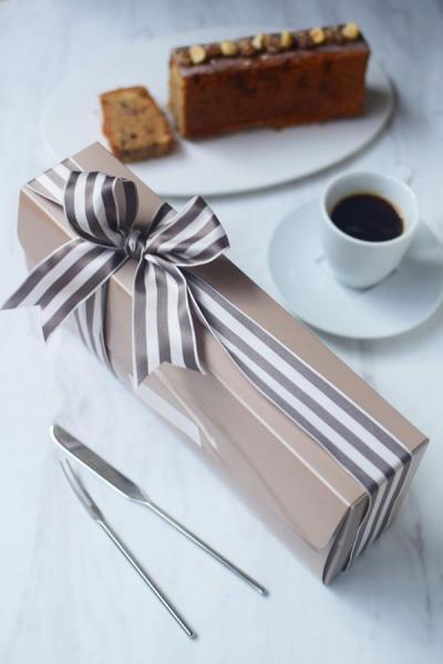 カフェマロンパウンドケーキのラッピング☆