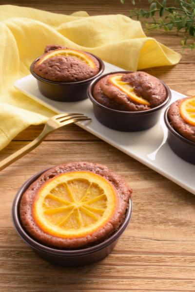 30分で出来る!チョコレートオレンジマドレーヌ