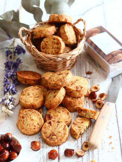 キャラメルナッツの塩クッキー(改訂版)
