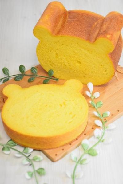 かぼちゃのくま型食パン