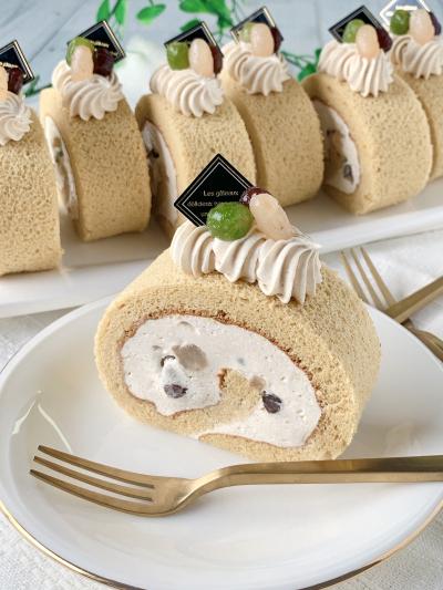 乳製品不使用!きなこのロールケーキ