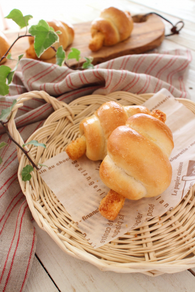 サクとろチーズパン
