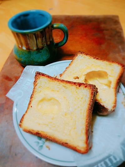 食パン型で!濃厚カスタードのクリームパン