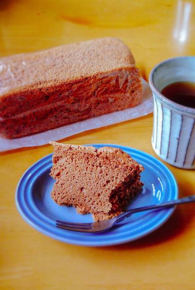 パウンド型でつくる濃厚チョコレートシフォンケーキ